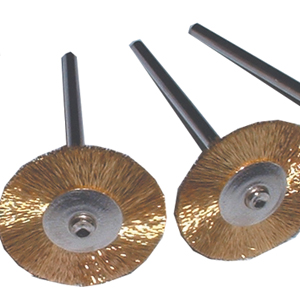 Progress Brass Wheel Fine HP - Pack 10