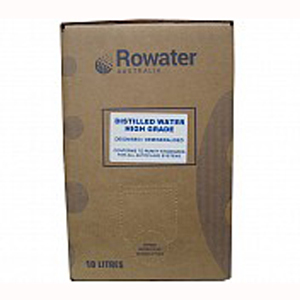 Rowater Distilled Water - High Grade 10 Litre