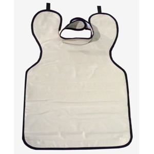 Star X-Ray Protective Lead Apron, Adult With Collar Beige 61x69cm