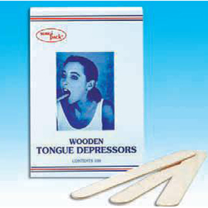 SurgiPack Tongue Depressors Wooden - Pack 100