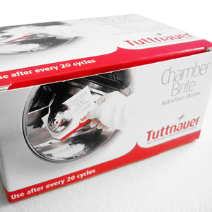 Tuttnauer Chamber Brite Autoclave Cleaner, CLE096-0021 - Pack 10