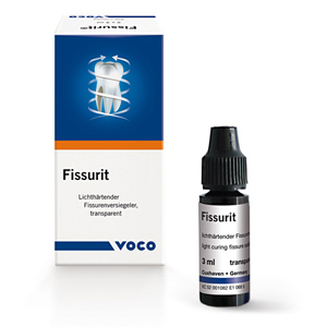 Voco Fissurit F Fissure Sealant 3ml Bottle, 1180 - Pack 2