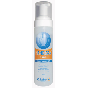 Handisan Sanitising Foam Alcohol Free 200ml Bottle