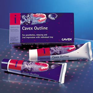 Cavex Outline Impression Paste - Eugenol Free, Light Body