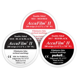 Parkell AccuFilm II Articulating Paper - Red/Black S017