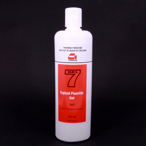Germiphene Gel 7 Neutral Topical Fluoride Gel 450ml Bottle