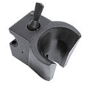 Forest Automatic Accessory Holder with Lockout Toggle, Grey