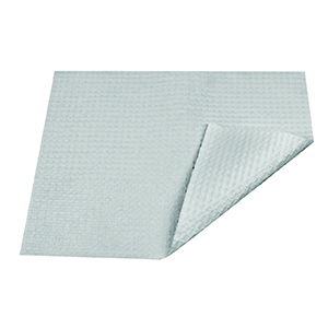 1000/Carton Livingstone Dental Bib 20 x 28 cm 4-Ply, lined