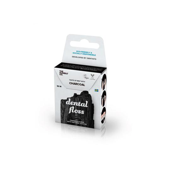Dental Floss 50 m - Charcoal